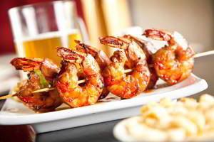 Grilled Shrimp Kabobs